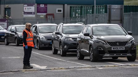 Booking slots mean fewer queues for Suffolk's recycling centres. Picture: SARAH LUCY BROWN
