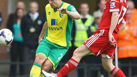 Russell Martin is still convinced Norwich City will survive in the Premier League. Picture by Paul C