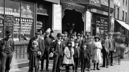 Back in the day... How Brick Lane thrived in Edwardian times, with its large Jewish community. Pictu