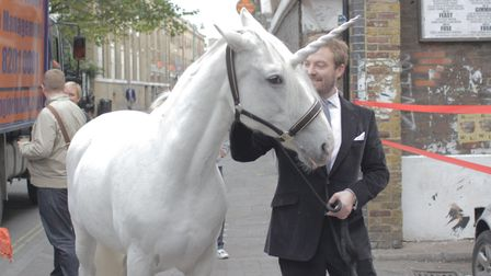 Even fabled unicorns eventually find their way to Brick Lane... honest! Picture: Truman's Old Brewe