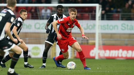 Orient's Hector Kyprianou on the ball (pic Simon O'Connor)