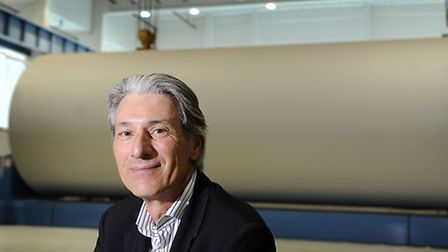 CEO of Palm Paper Dr Wolfgang Palm. Picture by: Matthew Usher.