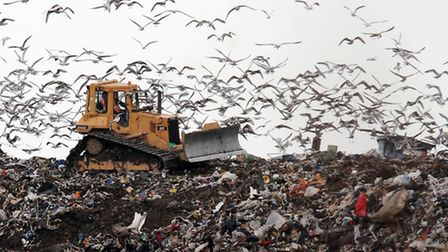 Embargoed to 0001 Monday March 24File photo dated 22/01/09 of a landfill site as banning materials i
