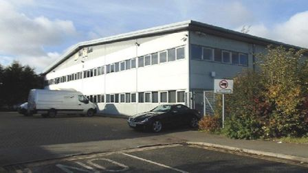 Charles Kendall Freight is taking over this warehouse at Claydon Business Park Picture: PENN COMMERC