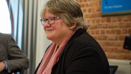 Suffolk Coastal MP Therese Coffey announced the extra funding in her role as work and pensions secre