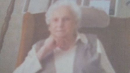 Wendy Botterill, who died at the age of 100 in Aldeburgh Picture: COURTESY OF THE FAMILY