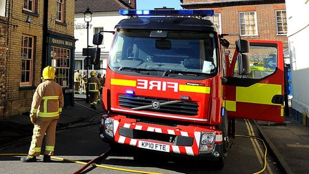 Two fire crews attended the incident in Clacton (stock photo) Picture: GREGG BROWN