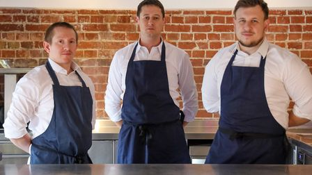 Tom Clarke (left) formerly of L'Ortolan, a one Michelin star restaurant in Reading has joined Rik Wi