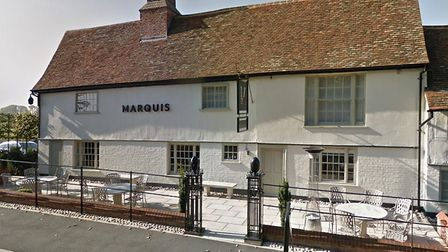 The Marquis in Layham is another eatery targeted by the couple Picture: GOOGLE MAPS