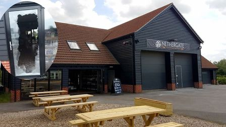 Nethergate Brewery was broken into by a Bocock and his accomplice using sledgehammers. Picture: NETH