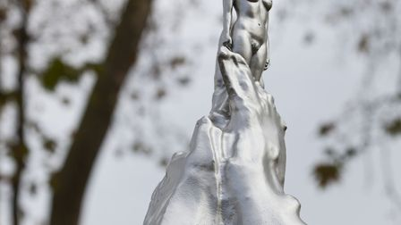 Maggi Hambling's A Sculpture for Mary Wollstonecraft has been unveiled on Newington Green, London, a