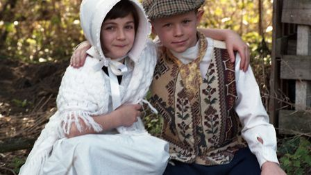 Victorian Day at St James Middle School in Bury St Edmunds in February 1998 Picture: ARCHANT