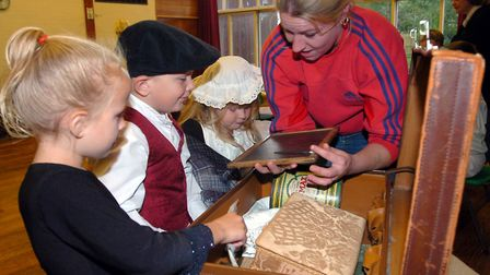 A Victorian day at Downing Primary, Ipswich in 2005 Picture: PHIL MORLEY/ARCHANT
