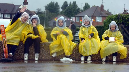 A very wet Clacton Airshow in 2006 Picture: JAMES FLETCHER/ARCHANT