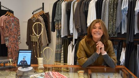 Anna Park inside her new Holt shop, which is in the town's high street Picture: ANNA