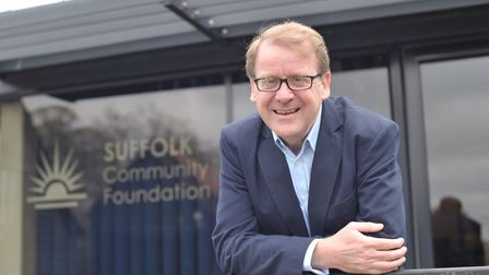 Stephen Singleton, chief executive of the Suffolk Community Foundation. Picture: SARAH LUCY BROWN