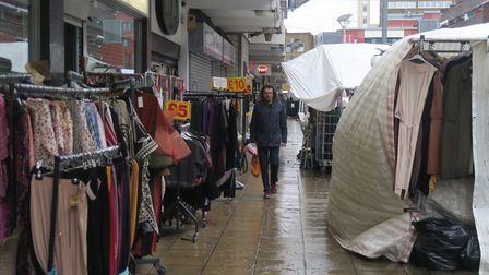 Stores want stalls turned round to face them rather than seeing their backs which hide their windows
