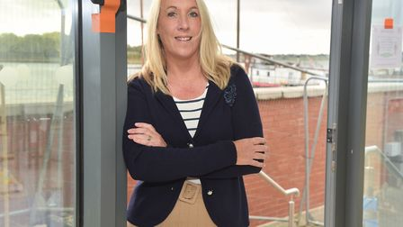 Emma Cole has left teaching behind to open Woodbridge's first waterside restaurant. The Boathouse K