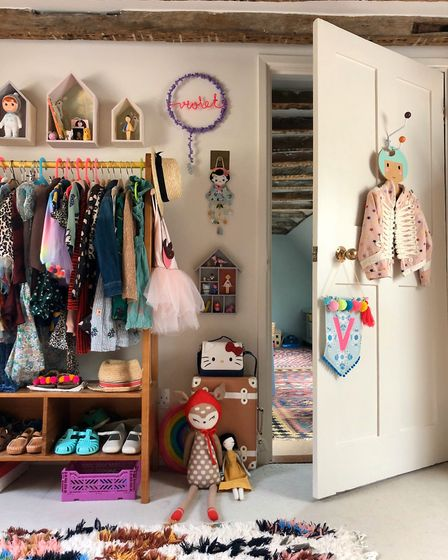 Emma Paton's daughter Violet's room Picture: EMMA PATON
