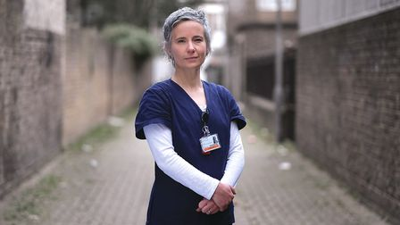 The Royal London geriatric consultant Sophie Edwards. Picture: Barts Charity