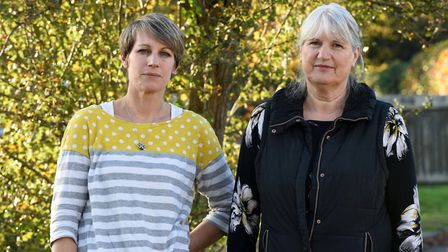 Theresa and Elizabeth Theobald believe there are questions for social services to answer surrounding