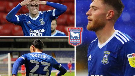 Ipswich Town boss Paul Lambert loves watching Jack Lankester, Andre Dozzell and Teddy Bishop play. P
