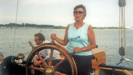 Lizzie Carr loved sailing and volunteering for charity Picture: ANTHONY CARR