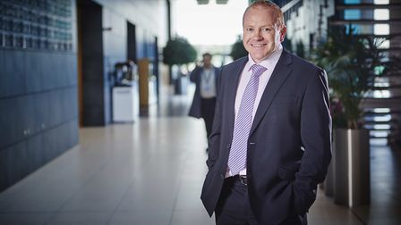 Dav Atkinson, regional director for the East of England at Lloyds Bank Picture: DANIEL GRAVES PHOT