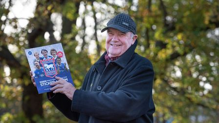 Town fan Mike Beecroft who used to work with Kevin Beattie. Picture:Sarah Lucy Brown