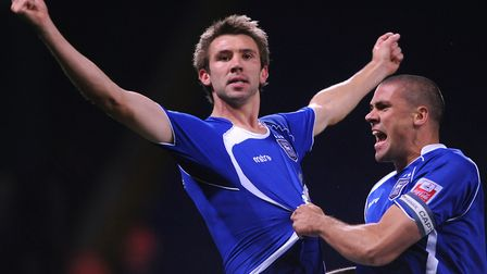 Gareth McAuley, a centre-half, finished fourth in Town's goalscoring charts in 2009-10. The strikers