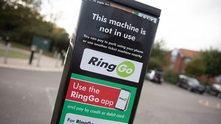 East Suffolk Council is trying to encourage people to use the RinGo app to pay for car parking. Pic