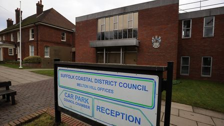 Suffolk Coastal District Council's former headquarters at Melton Hill, Woodbridge. Picture: ARCHANT