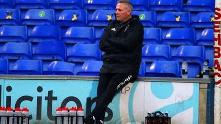 Ipswich Town manager Paul Lambert has to get Town promoted Photo: ROSS HALLS