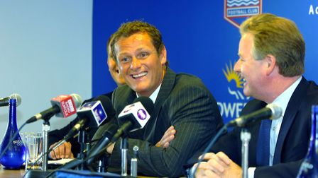 Jim Magilton is named as Ipswich Town's new manager with Brian Klug as head coach at a press confere