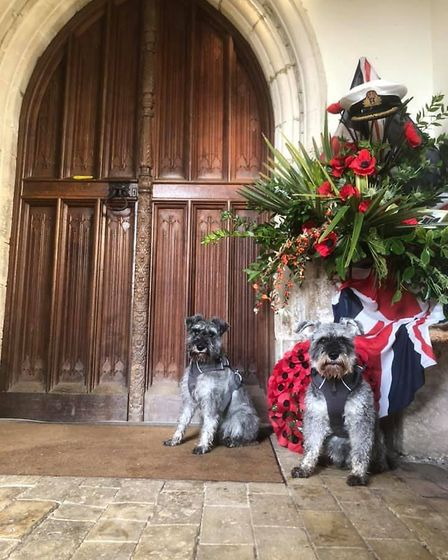 Door number four was at St Mary's Church in East Bergholt and was all about remembering those people who put their lives...