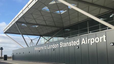 The incident happened inside Stansted Airport's police station Picture: STANSTED AIRPORT