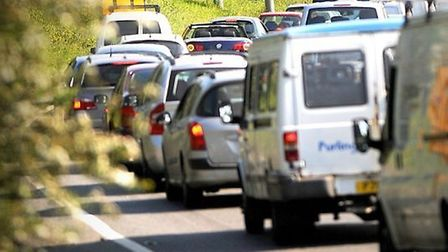 The A12 is closed between junction 22 at Witham and junction 24 at Kelvedon until Tuesday, November