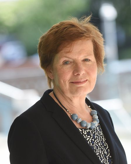Suffolk County Council education cabinet member Mary Evans said she was lobbying for financial support for schools through...