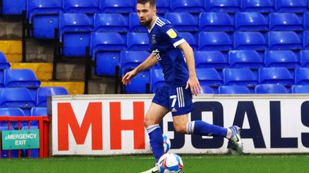 Gwion Edwards missed out on League One's player of the month award for October Picture: ROSS HALLS