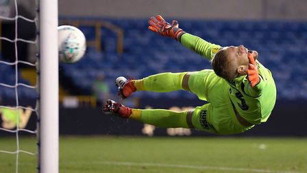 Charlton keeper Ben Amos claimed October's League One player of the month award Picture: PA SPORT