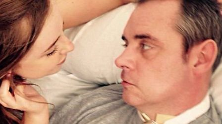 Simon Dobbin's daughter Emily pictured with her dad Picture: SUPPLIED BY FAMILY