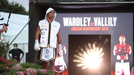 Fabio Wardley is 9-0, with eight straight stoppage wins Picture: PA SPORT