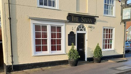 The Swan in Holbrook is set to reopen in December with new owners Jo and Adam. Picture: JO MATTHEWS