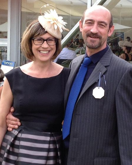 Jo Matthews and partner Adam Climie are the new owners of The Swan pub in Holbrook. Picture: JO MATTHEWS