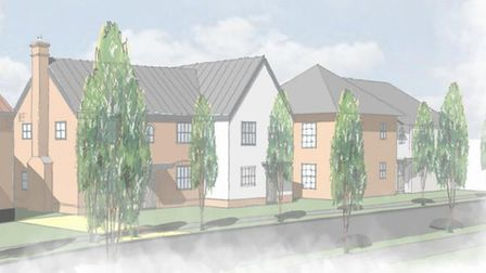 A new 279 home estate could be built in Needham Market if plans are approved. These homes fearture M