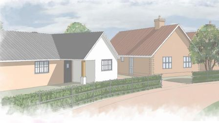 A new 279 home estate could be built in Needham Market if plans are approved. These homes fearture P