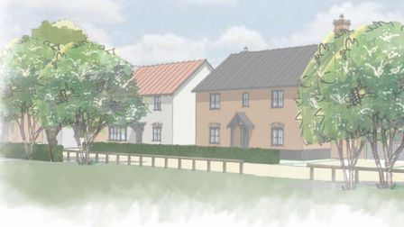 A new 279 home estate could be built in Needham Market if plans are approved. These homes fearture R