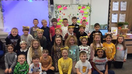 Children at Colneis Junior school have helped raise £1,400 for Children in Need along with those at Fairfield Infant school.