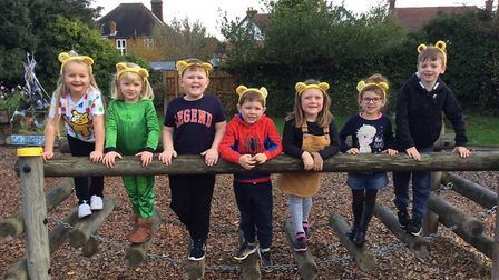 Children at Fairfield Infant school have helped raise £1,400 for Children in Need along with those at Colneis Junior school.