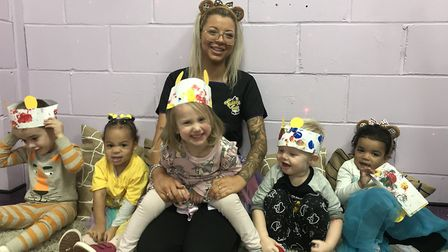 Children at Twizzle Tops Day Nursery in South Woodham Ferrers held a danceathon and made playdough Pudseys to raise money...